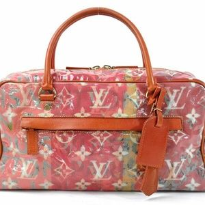 Auth Louis Vuitton Weekender Pm Richard #2289L65